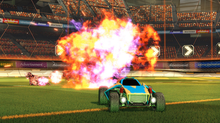 Rocket League Tipps und Tricks Explosion