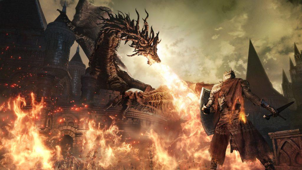 Dark Souls 3 Drache