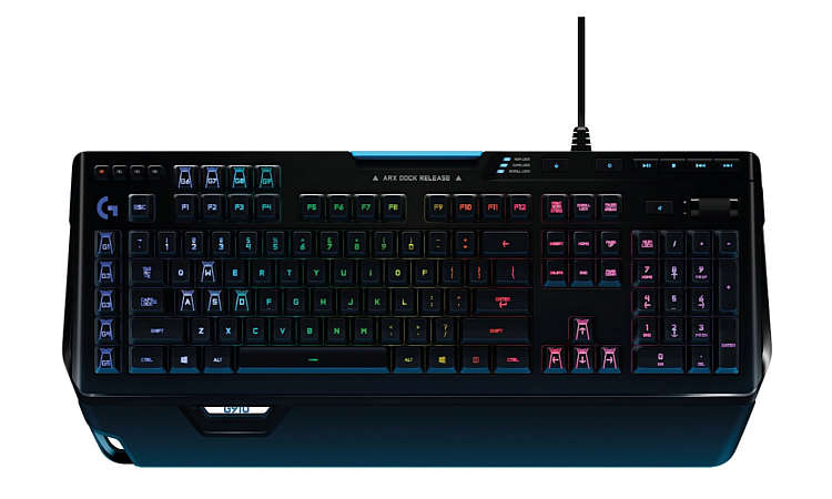 Tastatur Test Gaming Keyboard Logitech