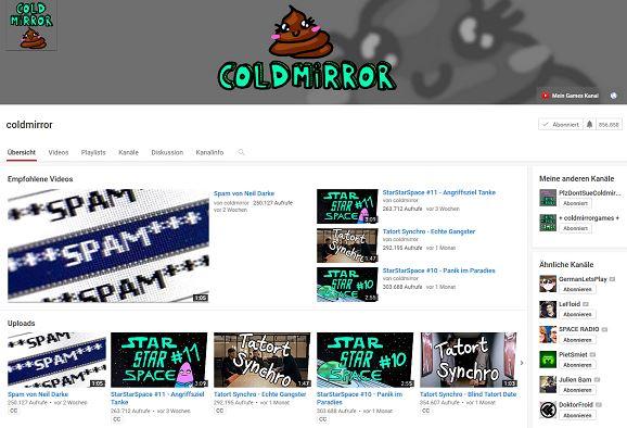 Coldmirror Youtube