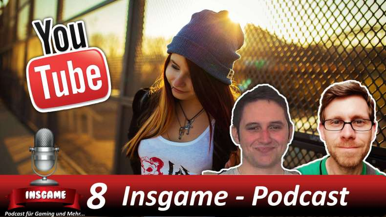 Insgame Podcast #008 Youtube mit JJ´s One Girl Band als Gast