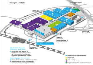 Gamescom 2018 Hallenplan Messeplan