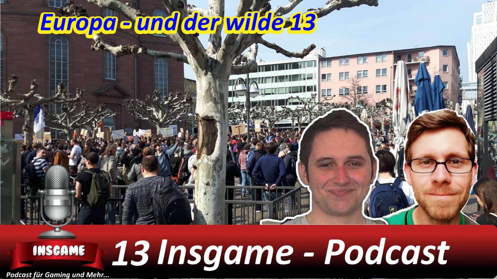 Insgame #013 Podcast für Gaming und Mehr